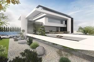 Exklusive Fertighäuser Villen : exklusive h user bauen moderne villen architektur haus bauen moderne h user und moderne villa ~ Sanjose-hotels-ca.com Haus und Dekorationen