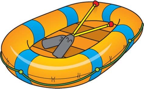 Rafting Boat Clipart by Raft Cliparts