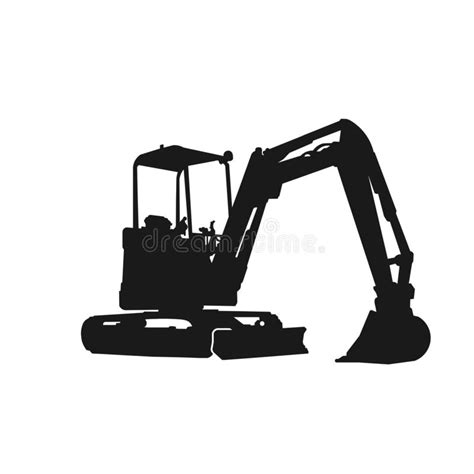 digger silhouette stock illustrations  digger silhouette stock illustrations vectors