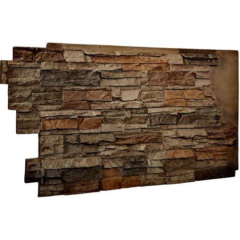 Choose decorative interior wall covering. Ekena Millwork 1-1/2 in. x 48 in. x 25 in. Terrastone ...
