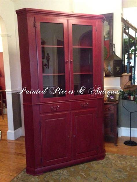 annie sloan burgundy painted furniture pinterest