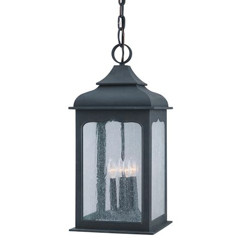 troy lighting henry 4 light colonial iron outdoor
