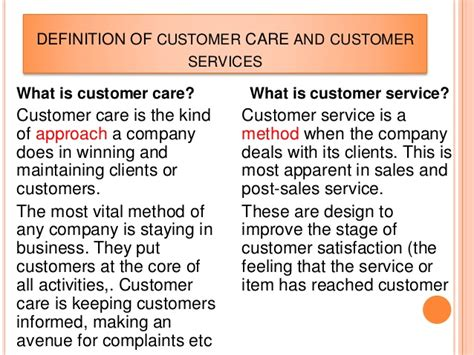 Definition Of Customer Service Exle by Customer Care In Tax Administration