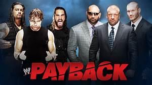 Payback 2014 : The Shield vs Evolution (Randy Orton ...