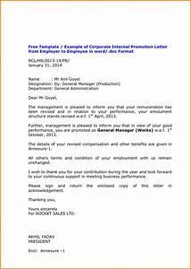 sample letter of interest for job promotion 8 promotion With restaurant promotion letter sample