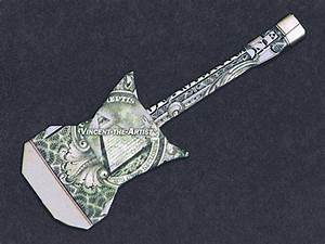 Origami Electric Guitar Instructions