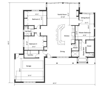 daylight basement ranch style house plan 3 beds 2 baths 2100 sq ft plan 481 5