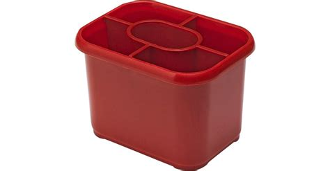 Addis Red Plastic Cutlery Drainer Caddy Stand Washing Up Sink Tidy Plastic Bangle Bracelets Laser Cut T Trim Molding Dominican Republic Surgeon Moldable Pellets Clear Earring Studs Storage Carts With Drawers Tessy Plastics Lynchburg Va