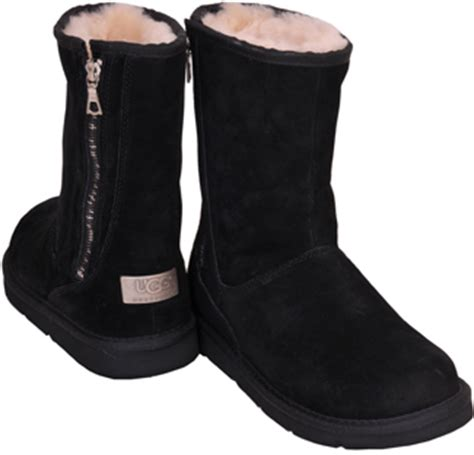 zipper ugg boots sale ugg australia mayfaire black suede shearling zipper boot at footnotesonline 39 s