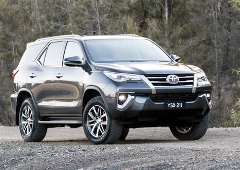 2019 toyota fortuner new toyota fortuner prices 2019 australian reviews