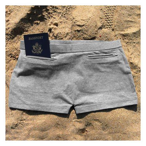 womens cotton underpants  secret pockets