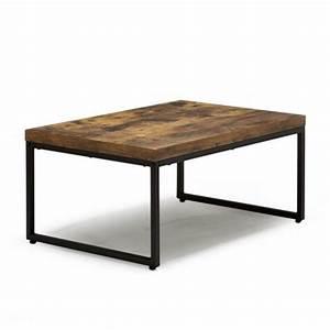 Table Alinea Bois : table basse industrielle alinea le bois chez vous ~ Teatrodelosmanantiales.com Idées de Décoration