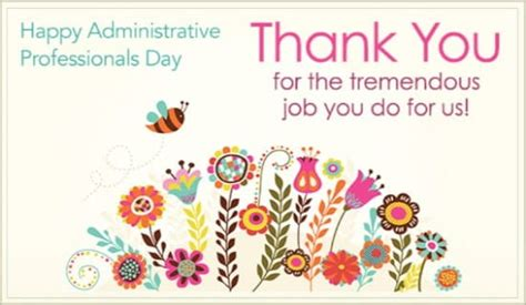 administrative professionals day printable