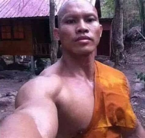 These Photos Of A Buff Monk Who Asks For 'healthy Alms