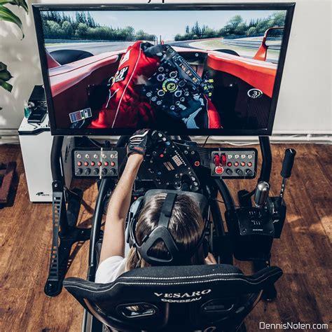sim racing rig simracinggirl how to be a top sim racer
