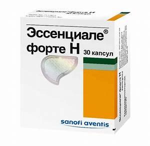 Эссенциале лекарство для печени инструкция