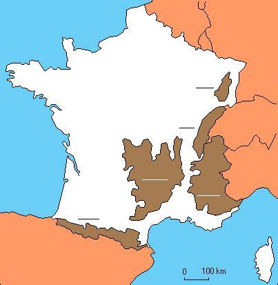 Carte De La Vierge Avec Les Massifs Montagneux by Les Montagnes De