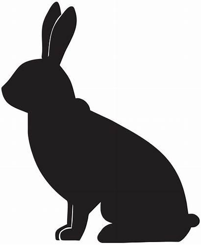 Bunny Rabbit Silhouette Clip Clipart Transparent Face