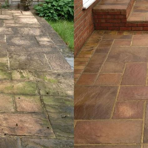 driveway and patio cleaning and restoration from lowton