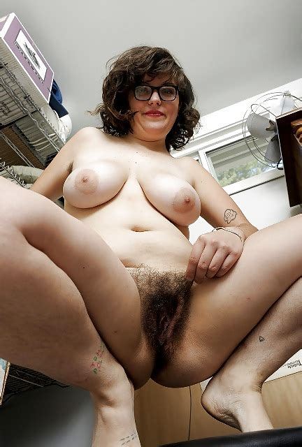 Chubby Hairy Milf With Glasses Great For Masturbation 7