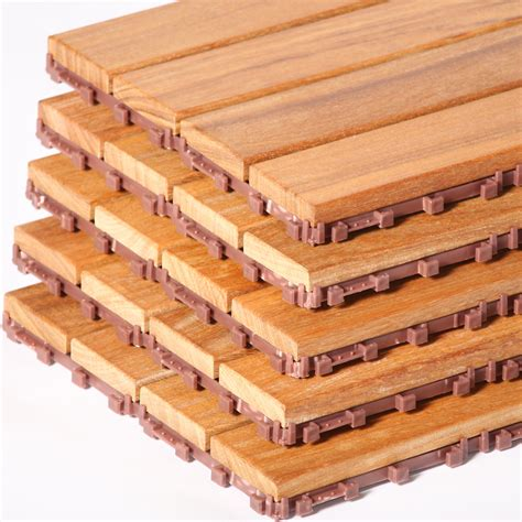 flexdeck interlocking patio tiles 12 x 24 set of 5 in