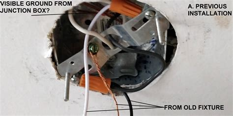 wiring ground wire from the junction box home