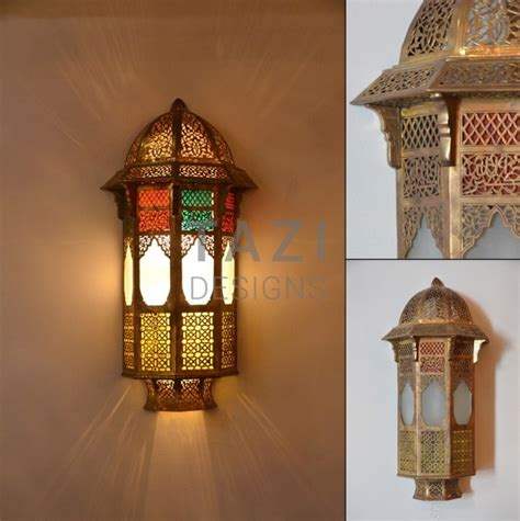 vintage moroccan wall sconce 001 tazi designs
