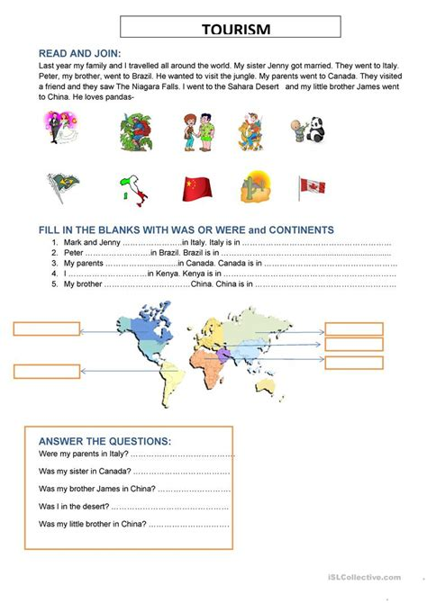 continents  oceans   world worksheet worksheets