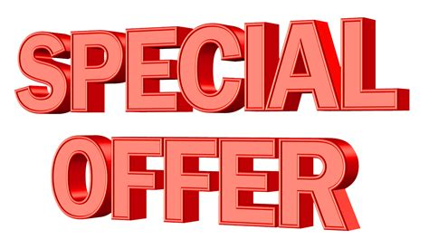 Special Offer Png Transparent Image Pngpix