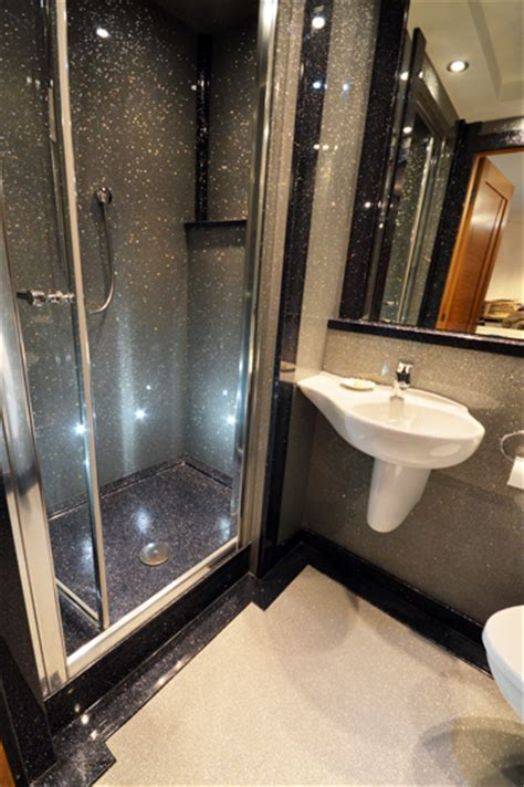luxury small bathrooms uk luxury bathroom ideas silver sparkle versital