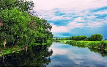 River Summer Wallpapers Desktop Backgrounds Fluss Itl