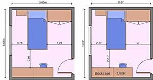 Kids Bedroom Layout Measurements  Bedroom Dimensions