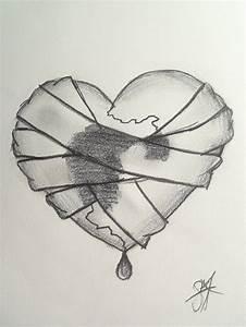 Sad Broken Heart Drawings | Art | Pinterest | Drawings ...