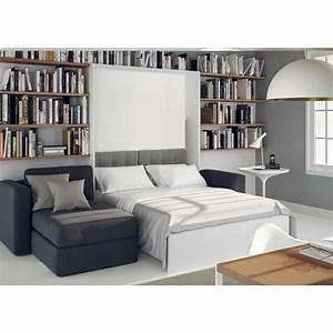 armoire lit canape armoires lits escamotables armoire With canapé lit méridienne