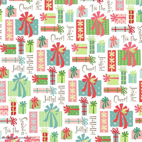 sheri mcculley studio gift wrap for christmas is in hiding