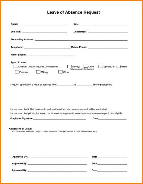 ideas collection annual leave request form template choice