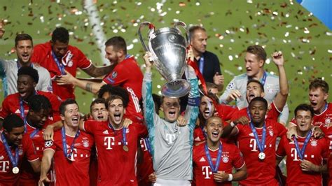 Bayern Munich defeat PSG to win UEFA Champions League ...