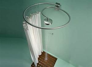 Circular Shower Curtain Rod - Decor IdeasDecor Ideas