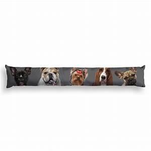 Coussin Bas De Porte : coussin bas de porte family dogs gris homemaison ~ Melissatoandfro.com Idées de Décoration