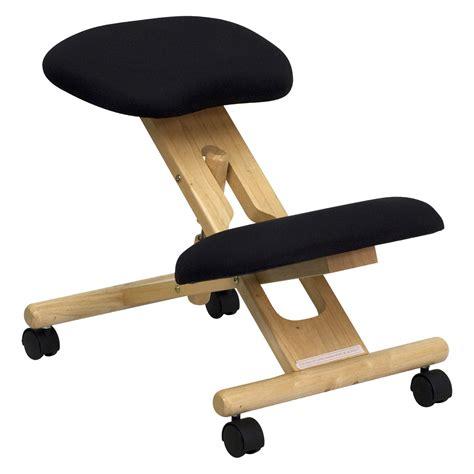 ergonomic desk chair flash furniture wooden ergonomic kneeling posture office
