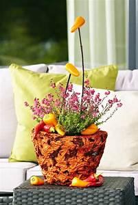 Einfache Herbstdeko Tisch : tisch und raumdekoration heidetrends ~ Markanthonyermac.com Haus und Dekorationen