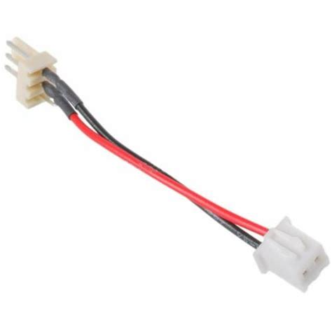 2 pin fan adapter 2pin to 3pin molex adapter fan cable for vga cards from