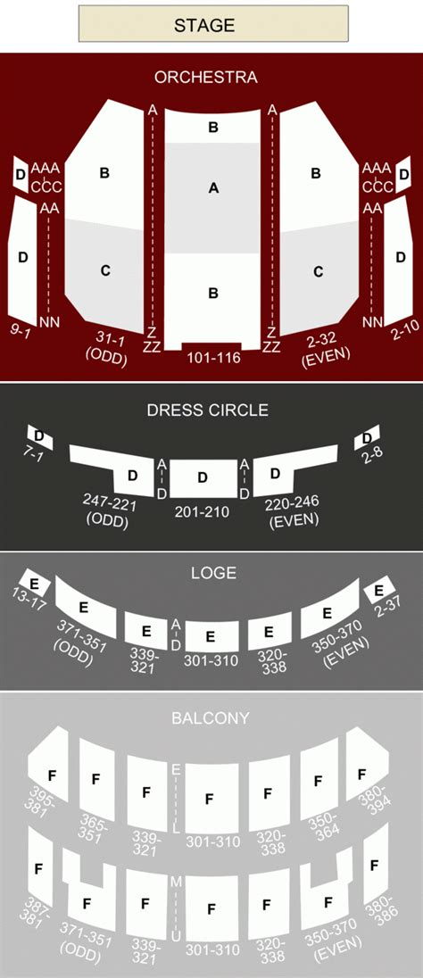 chicago venue guide privatebank theatre formerly bank of america theater seating pictures brokeasshome