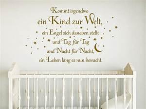 Wandtattoo Für Babyzimmer : wandtattoo kommt irgendwo ein kind zur welt wandtattoo de ~ Markanthonyermac.com Haus und Dekorationen