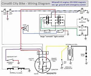 Wiring  U00ab Myrons Mopeds