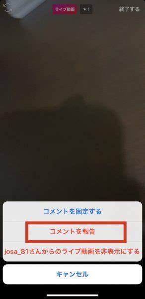 インスタ ライブ コメント 非 表示
