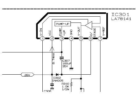 la78141 datasheet pinout datasheet pdf