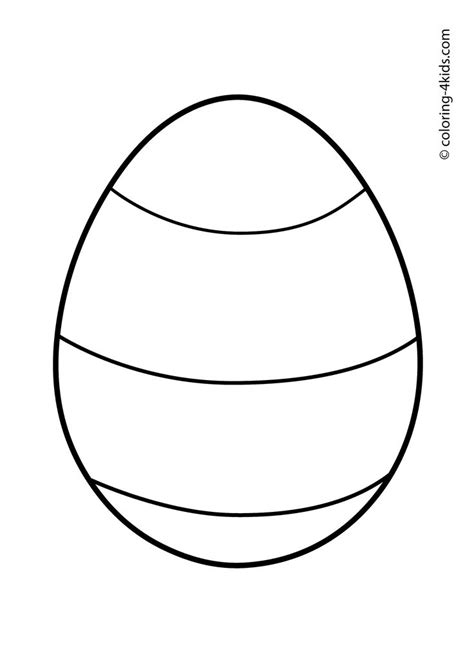 ideas  easter egg coloring pages
