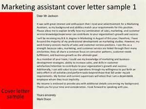 sle marketing assistant cover letter 28 images