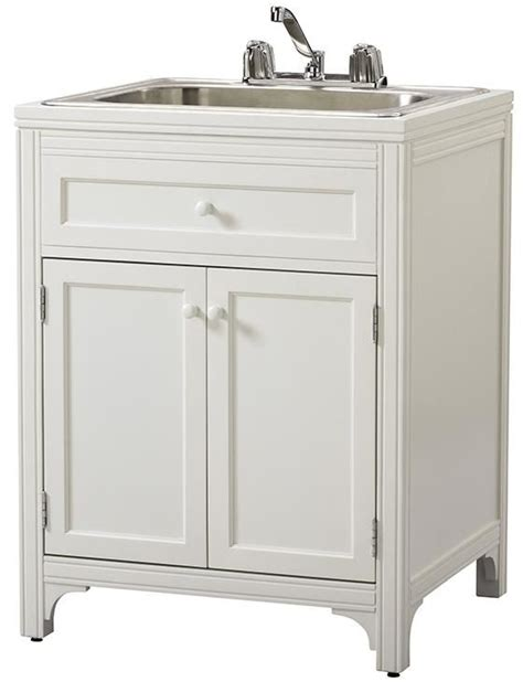 utility sink with storage pin by sheila m on laundry room ideas pinterest